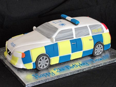 Image result for novelty police car cakes