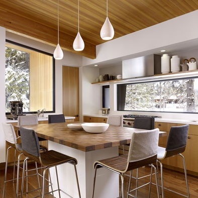 Spaces Horizontal Window Over Splashback Design, Pictures, Remodel, Decor and Ideas - page 5
