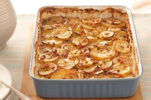 Bacon & Maple Scalloped Potatoes recipe