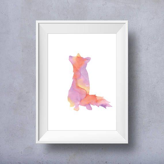 Printable Kids Wall Art Kids Art Animal Nursery Art Animal