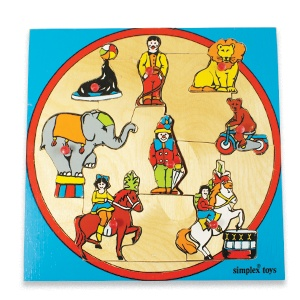 Vintage Circus puzzle by Simplex