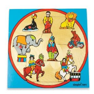 Vintage Circus puzzle by Simplex