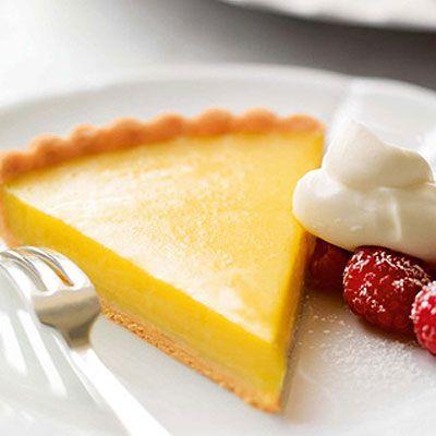 Classic Lemon Tart (Tarte Au Citron)