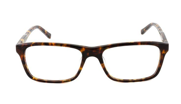 Heritage Men's Tortoiseshell Rectangle Glasses 10011538 - Vision Express £169