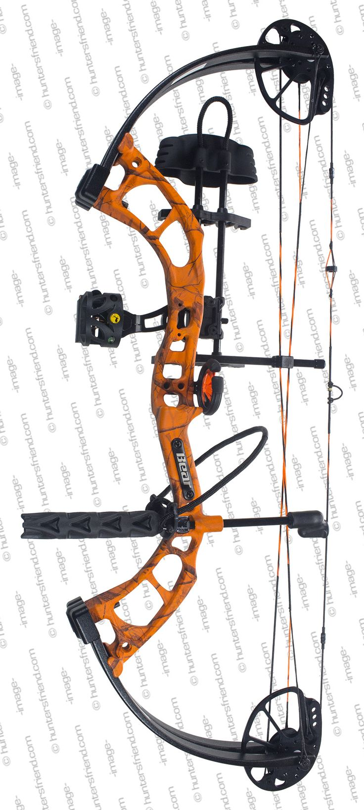 bear cruzer in orange finish bow package