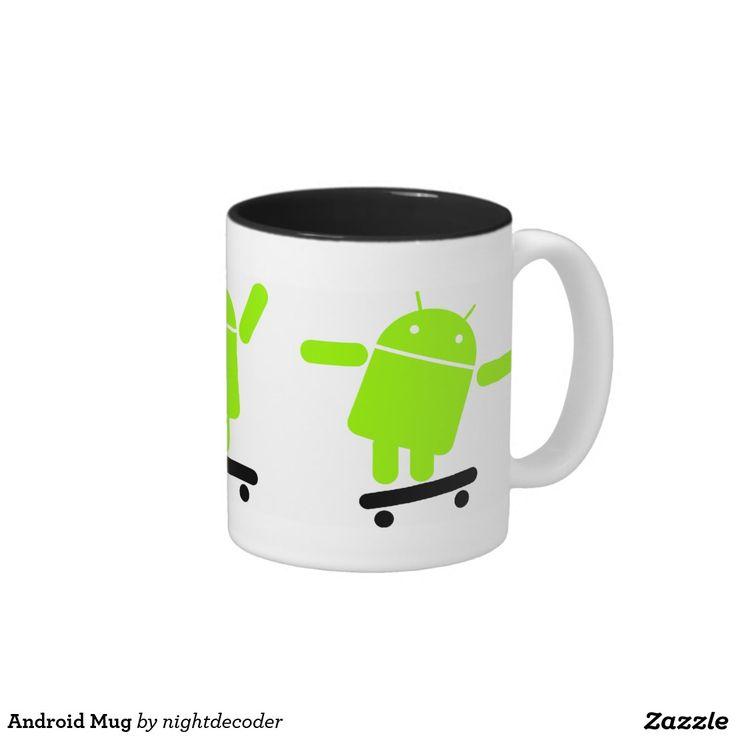 Android Mug. Regalos, Gifts. #taza #mug