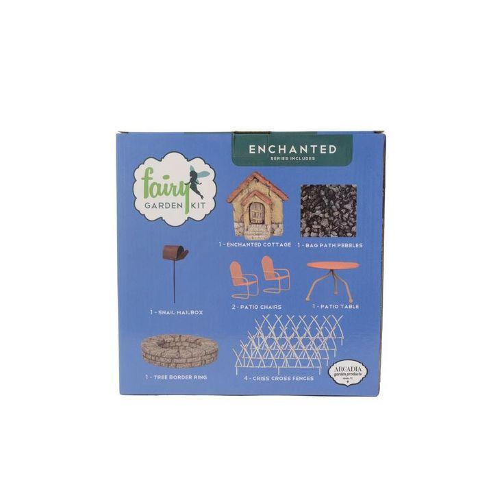 Enchanted Polyresin Fairy Garden Kit (11 Piece)
