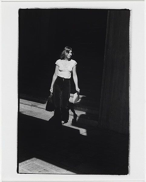 Carol JERREMS, (Macquarie University, woman carrying paper at bottom of stairs)
