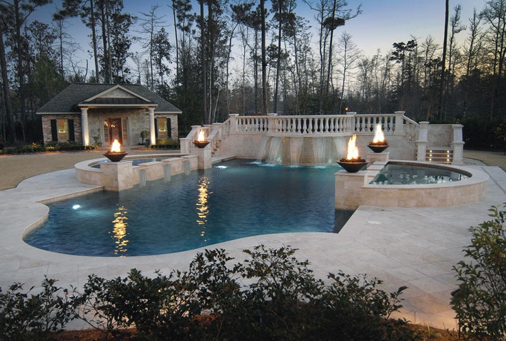 11 Best Images About Luxury Pools At Night On Pinterest