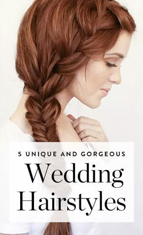 Discover these unique wedding hairstyles for your big day.