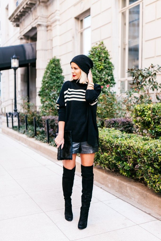 Courtney Kerr of What Courtney Wore featuring H&M, Sam Edelman, Michele and Henri Bendel.