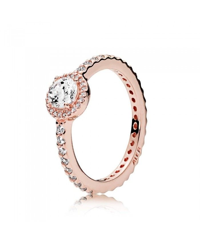 anillo pandora oro rosa