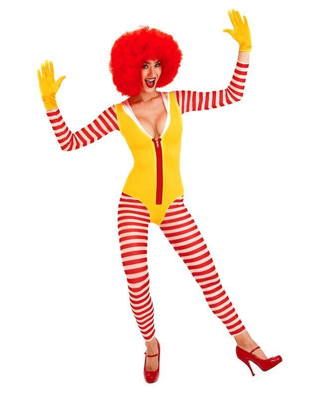 Suggest you Nude female ronald mcdonald excited too