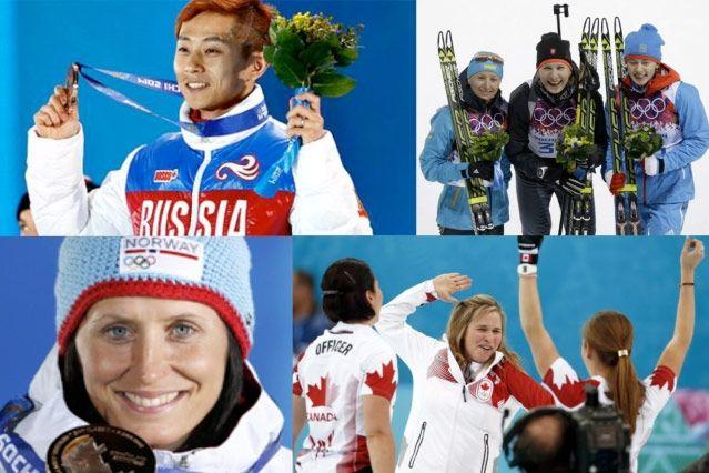 Зимние Олимпийские игры. Скоро финиш!