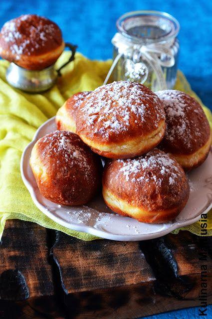 Pączki mojego dziadka   Kulinarna Maniusia - blog kulinarny