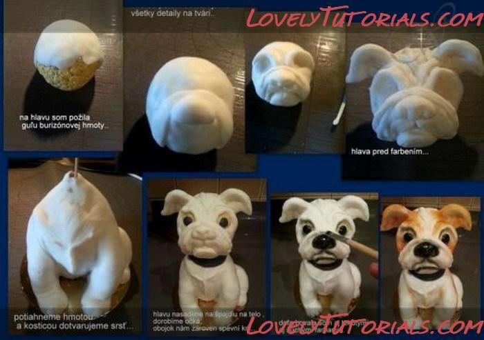 Make Dog Cake Topper