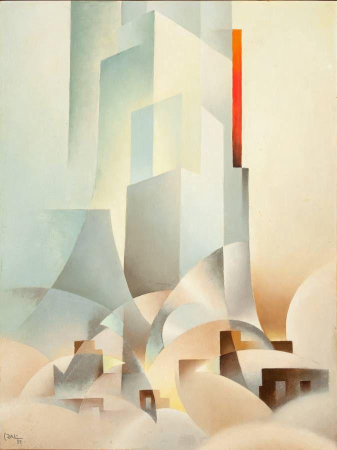 Tullio Crali. Distruzione e costruzione, 1932. http://www.tulliocrali.com/