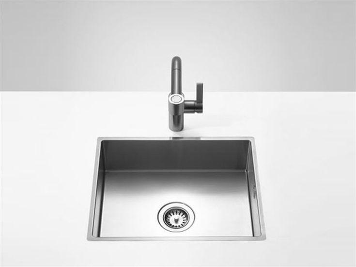 Lavello a una vasca 38 051 000 Collezione Water Units by Dornbracht