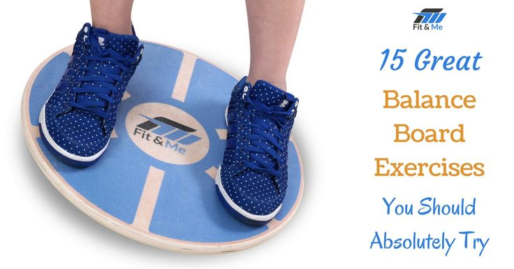 Learn how to progress from balance beginner to coordination champ with these 15 awesome Balance Board Exercises!