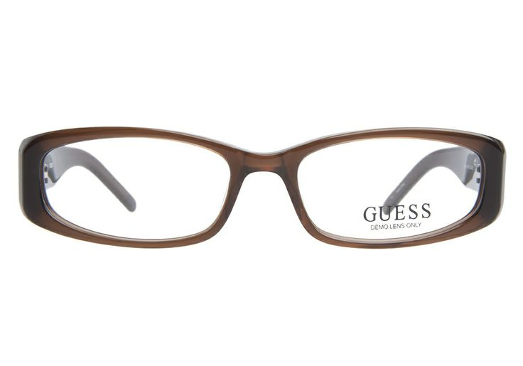 Guess 1643 Brown | It's Your Lucky Day! Love this frame? Re-pin it for your chance to win it!