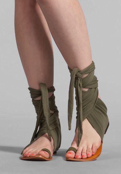 Nymph sandals