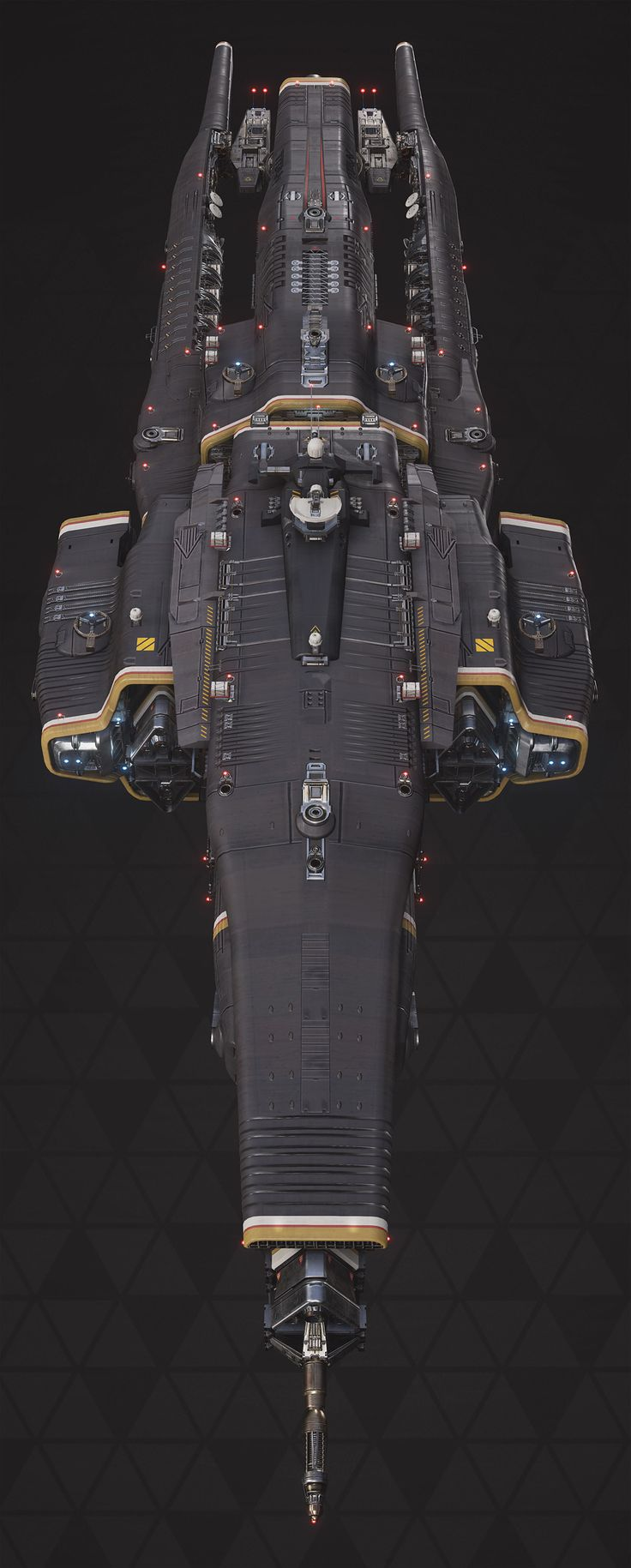 "ArtStation - Titan Defence Systems ""Equalizer"" - Fractured Space, Hans Palm"
