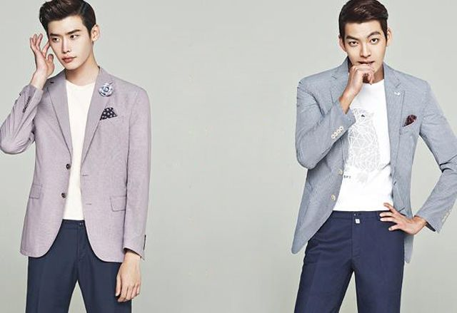 SCHOOL 2013′S LEE JONG SEOK & KIM WOO BIN ARE TWO HOT FRIENDS IN SUITS FOR TRUGEN'S F/W 2013 ADS