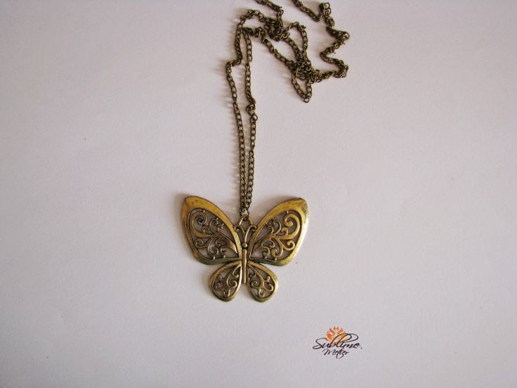 Sublime Metier: Colier Butterfly