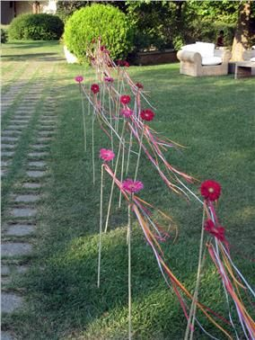 Wedding reception decoration  -  Pentelikon