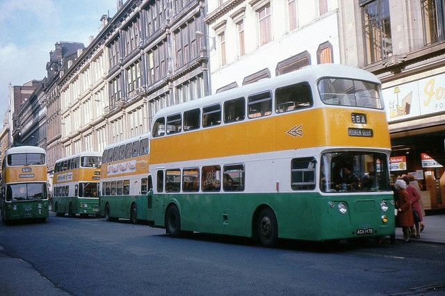 Greater Glasgow PTE Atlanteans by georgeupstairs, via Flickr