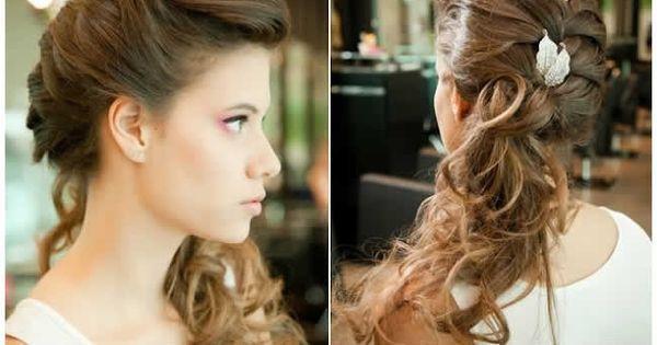 Penteados para cabelo cacheado, encaracolado ou crespo