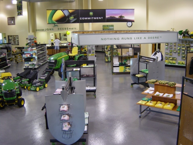 The Showroom Of James River Equipment Asheboro Nc It Is