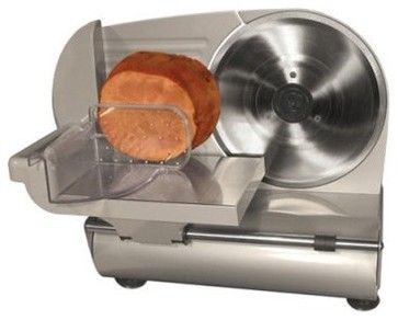 Weston 61-0901-W 9 Inch Heavy Duty Food Slicer modern food containers and storage