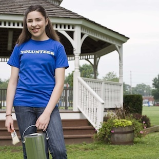 What community service is important to colleges?