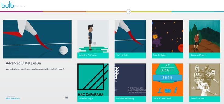 Student Advanced Digital Design ePortfolio (bulb)