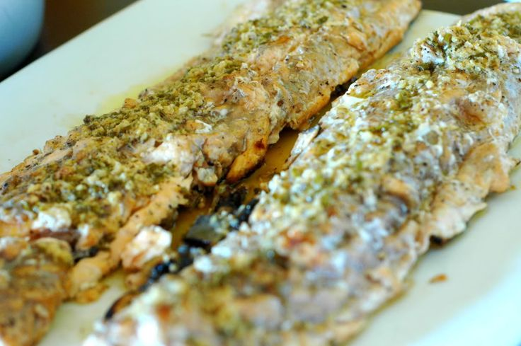 Lake Trout with Butter Sauce. | The Elliott Homestead
