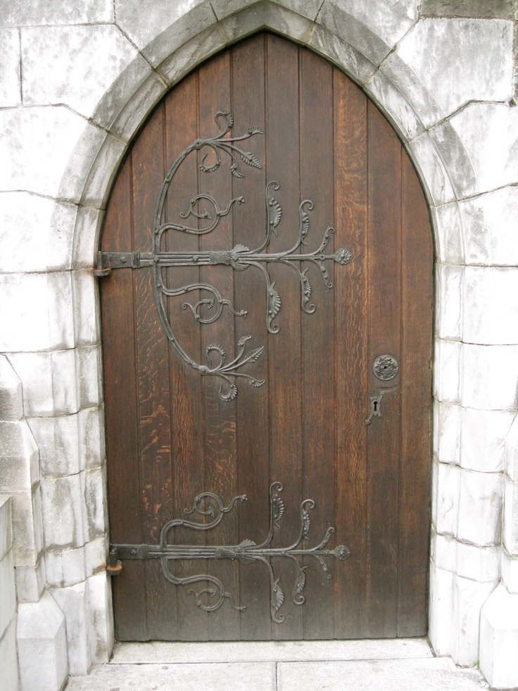 Irish castle-love this door