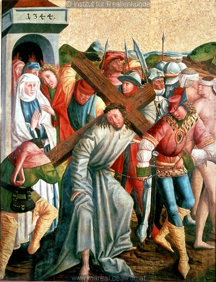 Christ Carrying the Cross, 1467, Master of the Laufener Hochaltars, Laufen