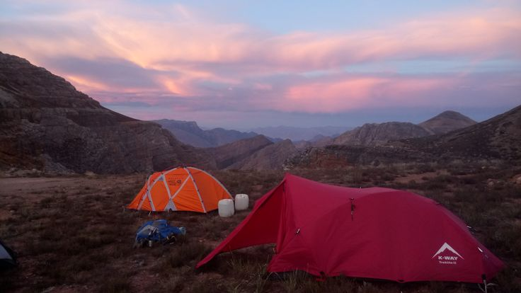 Camping on Conical Saddle