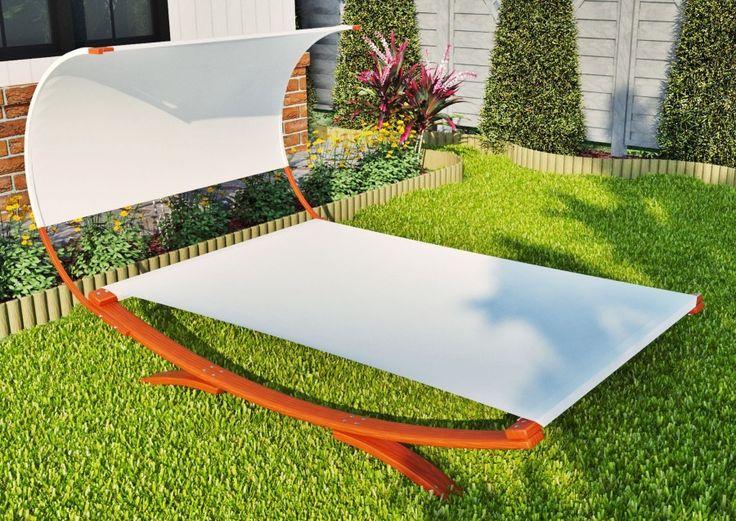 RoofyWhite to drewniany leżak ogrodowy, który został stworzony jako rozwiązanie dla współczesnego stylu spędzania wolnego czasu we dwoje. Charakteryzuje się nowoczesną stylizacją.