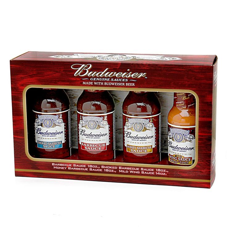 Budweiser BBQ Sauce and Marinade Gift Set thinking of getting this for someone's b-day.....