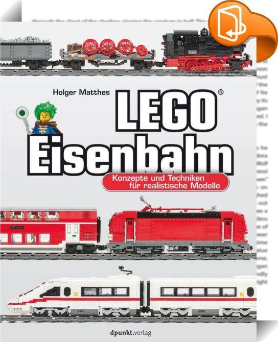 LEGO-Eisenbahn    :  Die LEGO-Eisenbahn lässt seit 50 Jahren nicht nur Kinderherzen höher schlagen – auch Erwachsene entdecken ihre alte LEGO-Eisenbahn im Keller oder auf dem Dachboden wieder. Dieses Buch zeigt, wie selbst ältere Eisenbahnen mit dem aktuellen System betrieben werden können und wie anspruchsvolle und schöne Zugmodelle entstehen. Eine Einführung in LEGO-Bautechniken, die nicht nur auf die Welt von Zügen und Gleisen anwendbar ist, verleiht das nötige Hintergrundwissen f...
