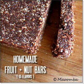 13 Flavors (including Maoomba Mayan Chocolate) of Larabar-like Fruit ...