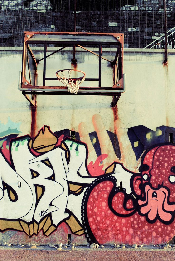 22 best images about street basketball on pinterest for Basketball mural wallpaper