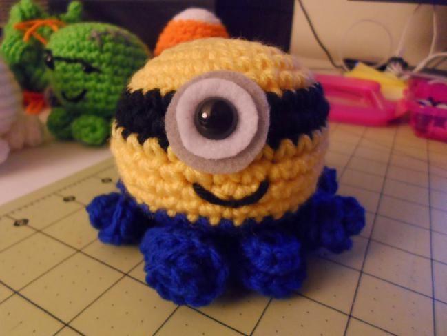 Cómo hacer un Minion pulpo de crochet - IMujer