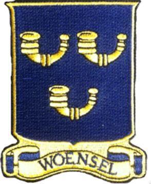 Badge Woensel Wapen van Eindhovens stadsdeel Woensel € 5,-