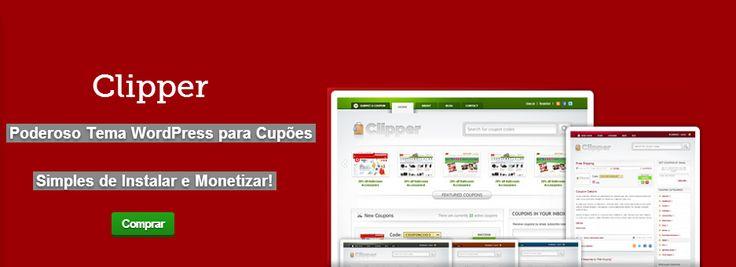 Clipper: O Melhor Tema WordPress para Criar Site de Cupões.