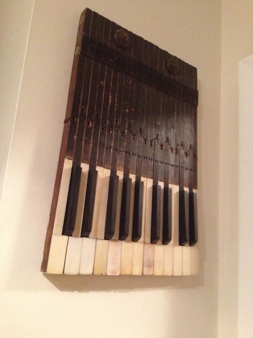 1000+ images about repurposed piano parts on Pinterest ...