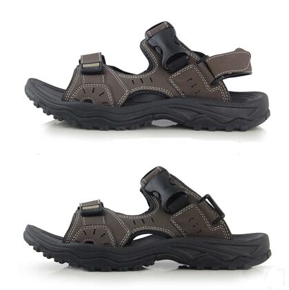 2015 кожаные сандалии мужские случайные летние мужские одежда мужчины сандалии пляжные сандалии мужские