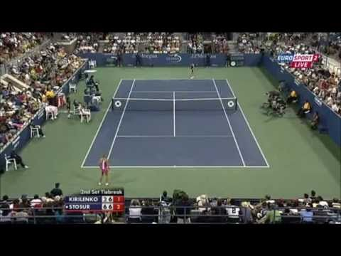 Maria Kirilenko vs Samantha Stosur US Open 2011 Great Tiebreak
